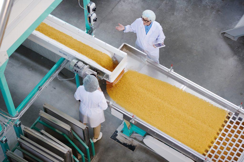 한국표준산업분류 식료품제조업